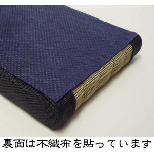 ミニチュア畳 1畳(黒縁)【サイズ/18cm×9cm】|takenomise|05