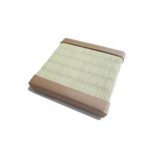 ミニチュア畳 半畳(ピンク縁)【サイズ/9cm×9cm】|takenomise