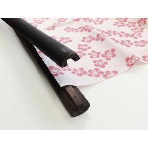 木製タペストリー棒(中)55cm takenomise 04