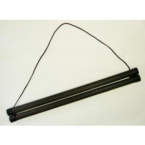 木製タペストリー棒(小)43cm takenomise