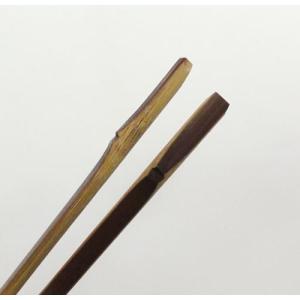 竹職人こだわりの「本煤竹箸(節付き)」 箸先極細仕上げ|takenomise|05
