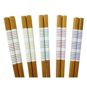 竹箸5膳セット 『スス竹 ナチュラル』(家庭用食器洗浄機対応) 日本製|takenomise