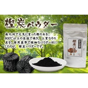 炭パウダー 食用100g 南九州産 食べる樫炭粉!放射能検査済み!※ポスト投函送料無料
