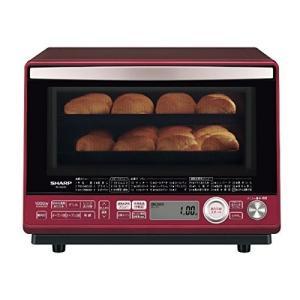 シャープ 加熱水蒸気オーブンレンジ 31L 2段調理 レッド RE-SS10C-R|takes-shop