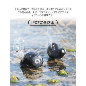 Bluetooth5.0進化版 72時間連続駆動 IPX7完全防水 Bluetooth イヤホン 完全 ワイヤレス イヤホン Pasonom|takes-shop