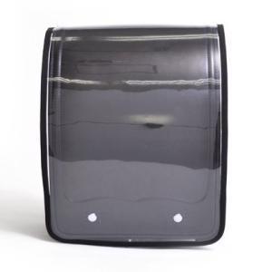 ランドセルカバー 透明・クリアブラック(透明ビニール×黒) N4150200|takes-shop