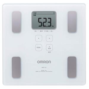 オムロン 体重・体組成計 カラダスキャン ホワイト HBF-214-W