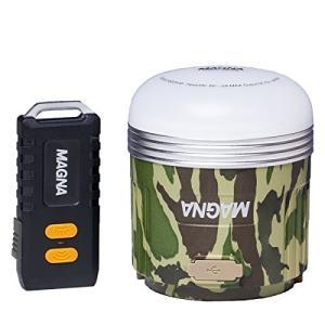 MAGNA(マグナ) 充電式 LEDランタン ハードケース リモコン付 迷彩 3WAY 550ルーメン 連続点灯240時間|takes-shop