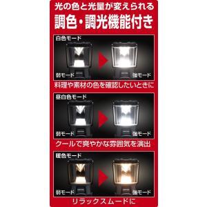 GENTOS(ジェントス) LED ランタン 充電式 明るさ1000ルーメン/実用点灯3時間/防水 パワーバンク EX-000R ANSI規|takes-shop