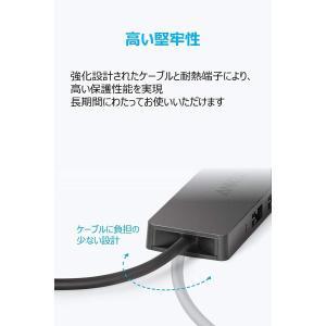 Anker USB3.0 ウルトラスリム 4ポートハブ USB3.0高速ハブ・バスパワー・軽量・コン...