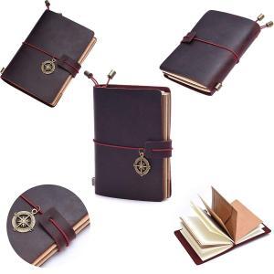 Soye トラベラーズノート レザー システム手帳 パスポートサイズ ブラック