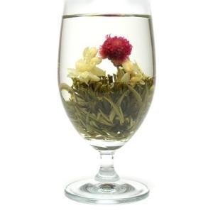 お花が開く幸せ工芸茶 ハッピーハート 8個入り 中国茶葉 花茶 ジャスミン茶 ジャスミンティー ギフト takes-shop