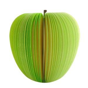 HANATORA フルーツメモ帳 立体 3D かわいい オシャレ 付箋 しおり ヘタ網ネット付き 1...