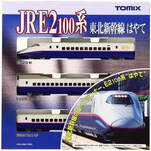 TOMIX Nゲージ E2-100系 東北新幹線 はやて 基本3両セット 92360 鉄道模型 電車|takes-shop