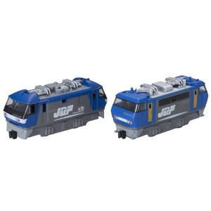 Bトレインショーティー EF200形+EF210形電気機関車 (機関車2両入り) プラモデル|takes-shop