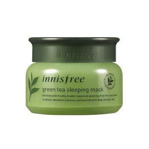 イニスフリー公式(innisfree)グリーンティー スリーピングマスク洗い流さないパック80mL