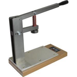 菱目打ち 専用 ハンドプレス機 レザークラフト 道具 工具 HS-500|takes-shop