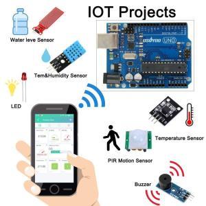OSOYOO Arduino IoT スターター キット 物体に通信機能を持たせ 自動認識 制御 遠隔計測 モノのインターネット 開発電子部|takes-shop