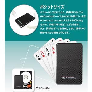 Transcend 外付けSSD 128GB USB3.0 MLC TS128GESD400K takes-shop