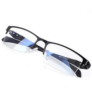 LEEVANブルーライトカット メガネ pcメガネ パソコン用眼鏡 軽量 おしゃれ 眼鏡 有害光線カット 度なし クリアレンズ 男女兼用|takes-shop