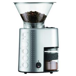 正規品BODUM BISTRO 電動コーヒーミル 10903-70JP-1、シルバー 10903-7...