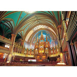 3000ピース ジグソーパズル 究極 パズルの達人 ノートルダム大聖堂カナダ スモールピース(73x102cm)|takes-shop