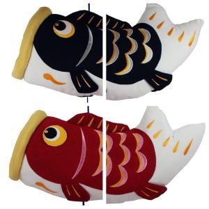 ちりめん 室内 鯉のぼり 吊り ふわふわ鯉のぼり ちりめんミニちまき特典付オリジナル五月人形 こいのぼり 高さ105cm リュウコドウ|takes-shop