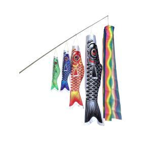 angelaicos 鯉のぼり 六点セット 端午の節句 初節句 出産祝い 子供の日祝い お庭用 ベランダ用 両用 飾り 高品質 (1.5M,|takes-shop