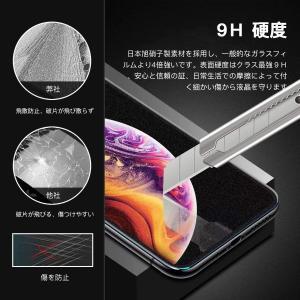 iPhone XR ガラスフィルム アンチグレア Siwoto 旭硝子ガラス製 フルカバー 超薄型0...