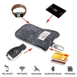 電波遮断 AIMEN 車 スマートキー ケース リレーアタック対策 車の鍵 盗難防止 電子キー カバ...
