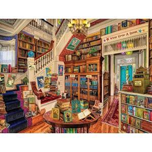 図書館 クロスステッチキット 450 * 380stitch 91x78cm 図書館 クロスステッチキット|takes-shop