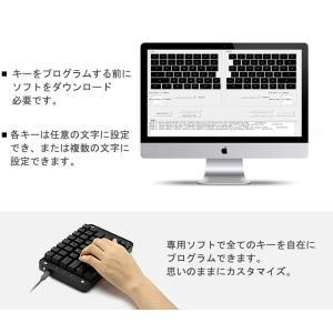 Koolertron 片手メカニカルキーボード ゲーミングキーボード 43キー プログラム可能 Windows 7/8/10/Mac OS/|takes-shop