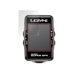 日本製 2枚セット 指紋が目立たない 反射防止液晶保護フィルム LEZYNE Super GPS 用...