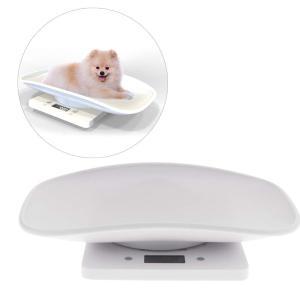 UEETEK ペット体重計 スケール 10KGまで 小型 精密 ポータブル 小型犬 子犬 猫 うさぎ用 電池式|takes-shop