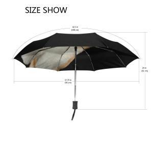 SoreSore(ソレソレ)日傘 uvカット折りたたみ 晴雨兼用 遮光 折りたたみ傘 ワンタッチ 自動開閉 軽量 レディース 柴犬 いぬ 犬|takes-shop