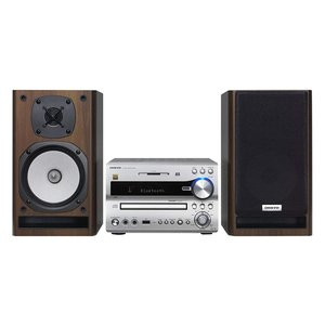 ONKYO Bluetooth/ CD/SD/USB/ハイレゾ対応 ミニコンポ シルバー X-NFR...
