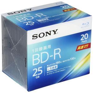 SONY ビデオ用ブルーレイディスク 20BNR1VJPS6(BD-R 1層:6倍速 20枚パック)|takes-shop