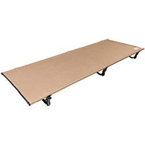 Viaggio+ アウトドア コット 折りたたみ ベッド キャンプ 女子でも簡単組立 耐荷重150kg 軽量 モカブラウン (モカブラウン)|takes-shop