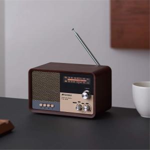 サンスイ Bluetoothスピーカー AM/FMラジオ付き ブラック|takes-shop