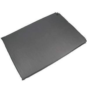 クイックキャンプ 車中泊マット 5cm 厚手 ダブルサイズ グレー QC-CMD5.0a エアー インフレーターマット アウトドア用寝具 車|takes-shop