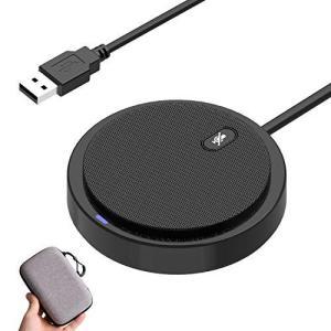 マイク PC USBマイク 会議用マイク 360°全指向性 小型集音 ミュート機能 Skype Zoom など対応 テレワーク 在宅 ウェブ|takes-shop