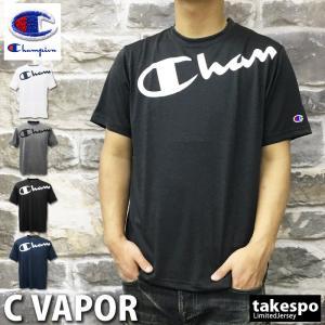 チャンピオン Tシャツ メンズ 上 Champion ビッグロゴ 半袖 C-VAPOR アウトレット SALE セール|takespo