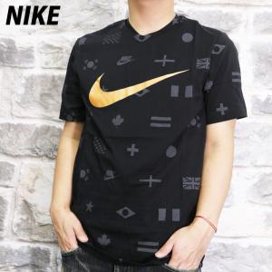ナイキ Tシャツ メンズ 上 NIKE ビッグロゴ 半袖 CT6557 BLK 送料無料 アウトレッ...