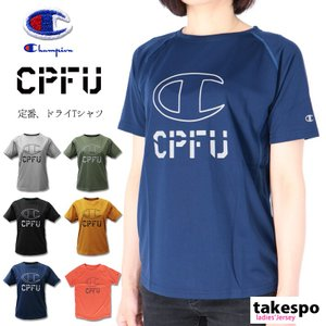 チャンピオン Tシャツ レディース 上 Champion ビッグロゴ 半袖 CPFU 送料無料 新作 takespo