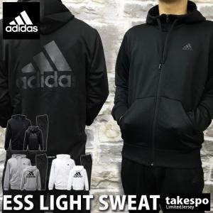 アディダス スウェット上下 メンズ adidas ビッグロゴ フード付き トレーニングウエア FAO87 ESSENTIALS 新作