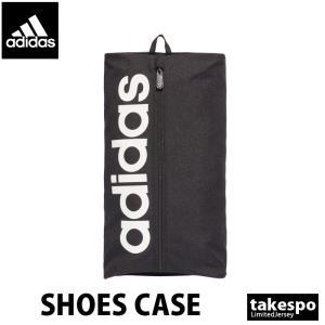 アディダス シューズバッグ adidas シューズバッグ ビッグロゴ 黒 ブラック 新作|takespo