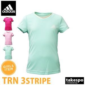 ブランド : adidas(アディダス) 分  類 : ガールズ Tシャツ 商 品 名 : TRN ...