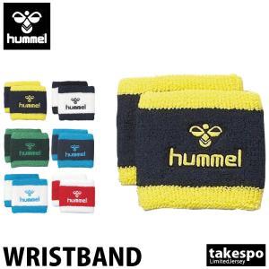 ヒュンメル リストバンド ユニセックス hummel サッカー フットサル hummel-SPORTS リストバンド2個組 新作 takespo