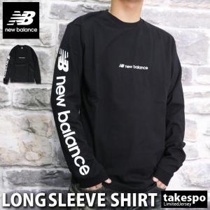 ニューバランス Tシャツ メンズ 上 newbalance ロンT ビッグロゴ 長袖 新作 takespo