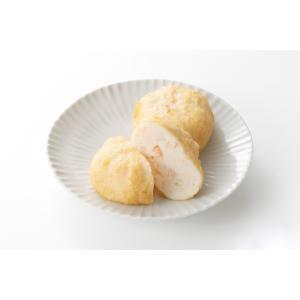 海老しんじょう 【ふっくらおつまみ、新潟の美味しいしんじょう揚げ】|taketoku-kamaboko